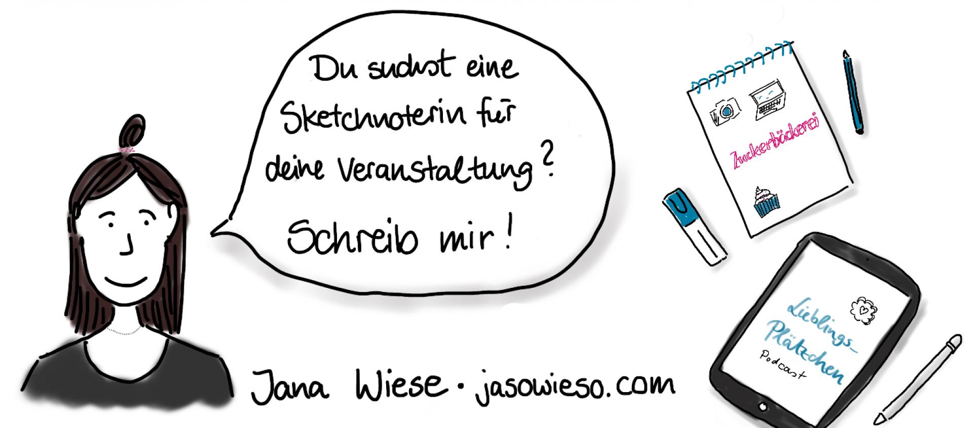 Jana Wiese – Sketchnotes und Graphic Recording