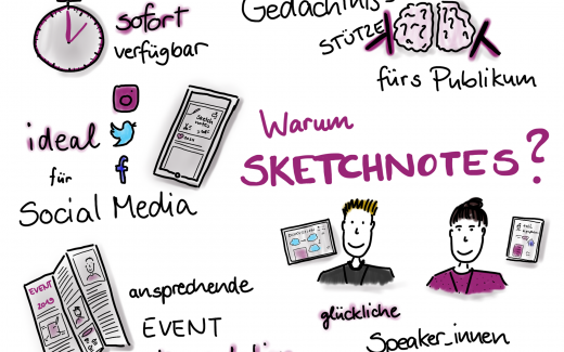 Warum Sketchnotes?